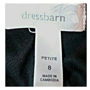 Dress Barn Dresses - Dress Barn Leopard Ruffle Top Dress Petite Size 8